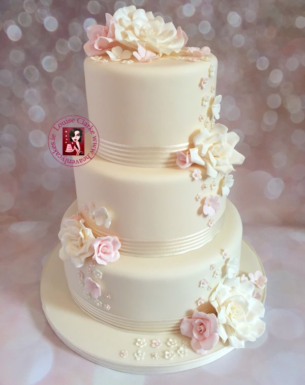 Cake Design In 2018 : Wedding Cakes in Ireland by Louise Clarke, Irish Wedding ...