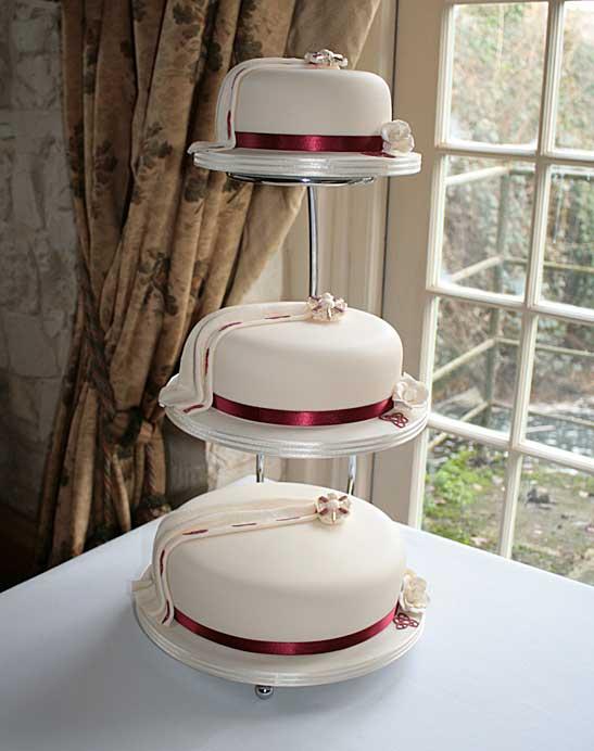 Wedding Cakes Celtic Rose